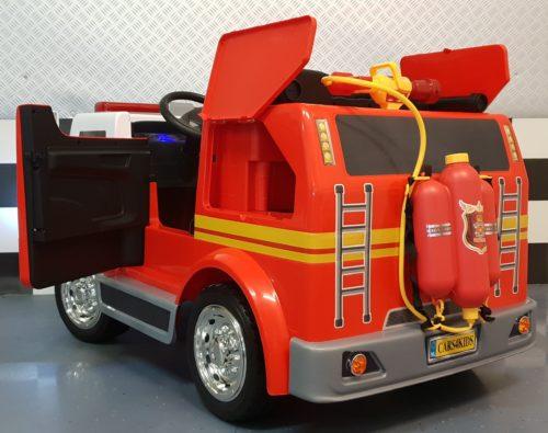 2 persoons brandweer kinderauto 12 volt