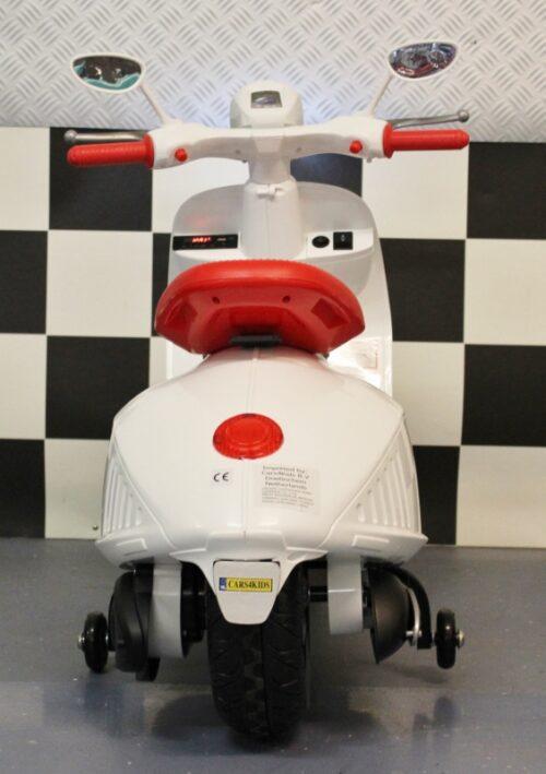 Accu kinderscooter 12 volt wit