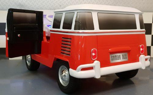 12 volt VW T1 Samba elektrische kinderbus met 2.4G RC