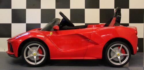 Ferrari LaFerrari accu speelgoedauto rood