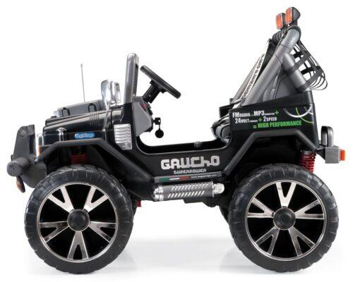 Gaucho 24 volt elektrische kinderauto Peg Perego