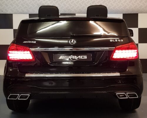 GLS MB kinderauto metallic zwart 2 persoons