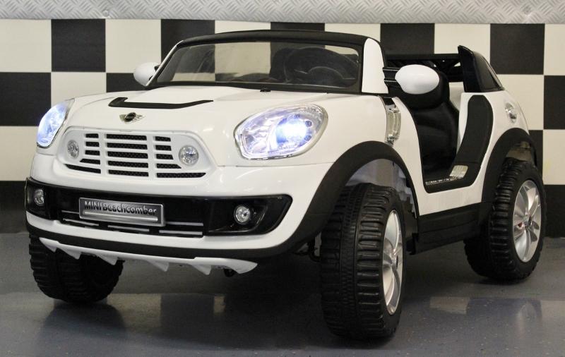 Mini Cooper Elektrische Kinderauto 2 Persoons Met Rc En 12 Volt