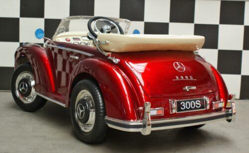 Speelgoedauto Mercedes Benz oldtimer rood 2.4G 12v