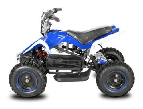 Python Nitro 800 watt kinderquad blauw