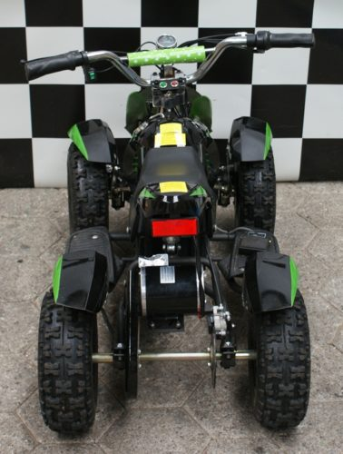 Kinder quad elektrische 36 volt groen