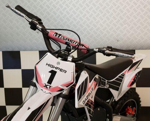 Crossmotor 36V 500 watt roze