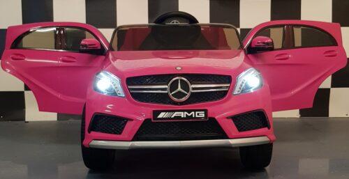 12 volt roze Mercedes A45 kinderauto met 2.4G RC
