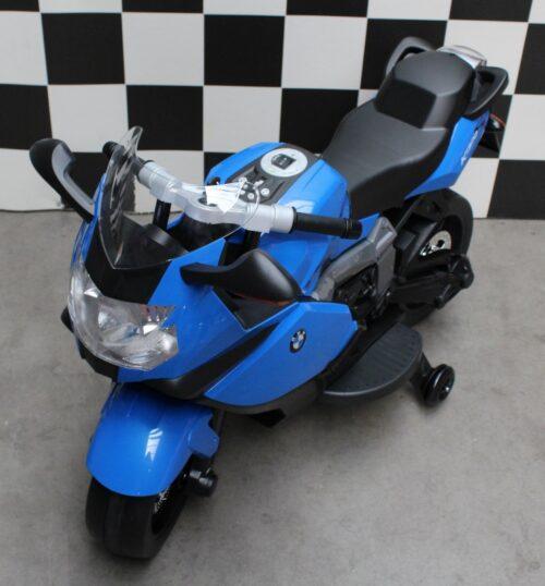 Kindermotor BMW K1300 S blauw 12 volt accu