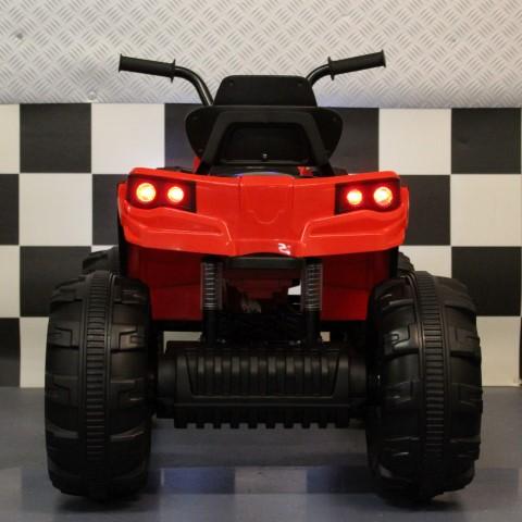 Speelgoedquad 12 volt rood
