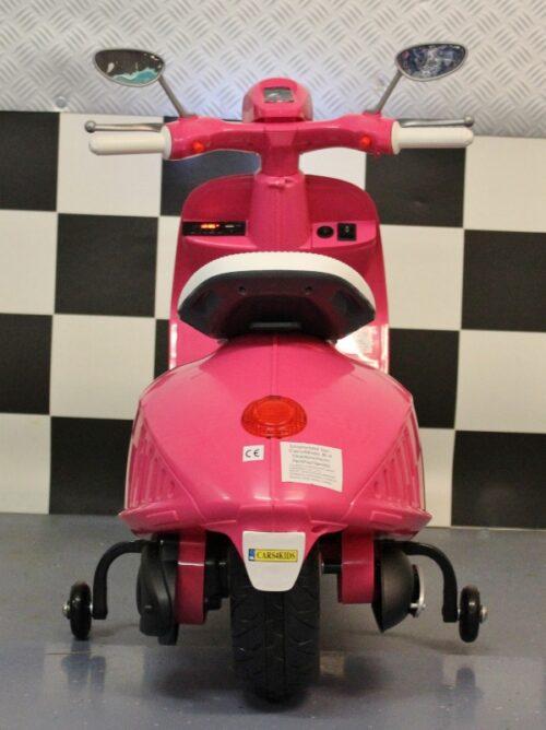 Meidenscooter 12 volt roze