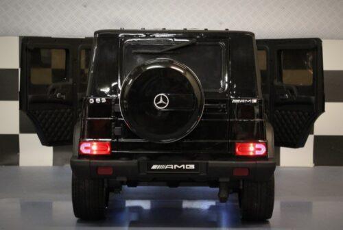 Speelgoedauto Mercedes G65 metallic zwart 12v 2.4G RC