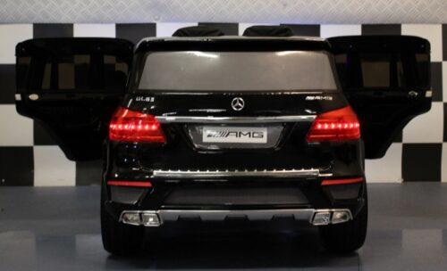 Metallic zwarte GL63 speelgoedauto 12V RC