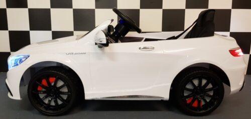 Kinderauto MB S63 wit 2.4G afstandbediening 12V