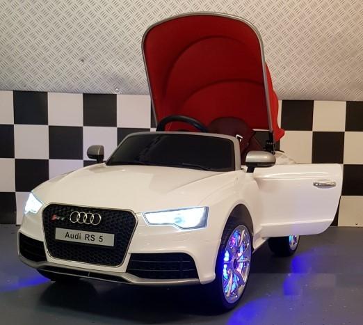 Elektrische kinderauto Audi RS5 2.4G afstandbediening 12 volt