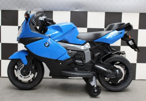 Elektrische kindermotor BMW 12V K1300 S blauw
