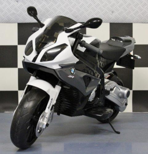 BMW S1000 RR kindermotor grijs 12 volt