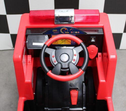 Elektrische 12 volt brandweerauto
