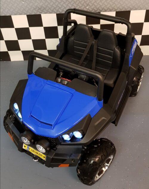 V Twin accu kinderauto 4 wiel drive 2.4G rc bediening