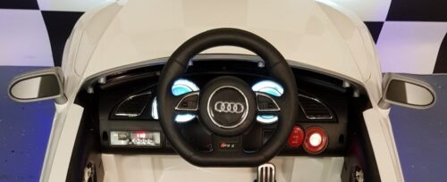 Dashboard kinderauto Audi RS5 wit