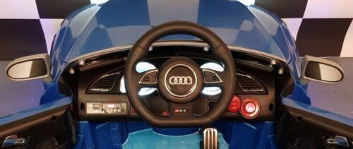 Dashboard accu auto blauw Audi RS5