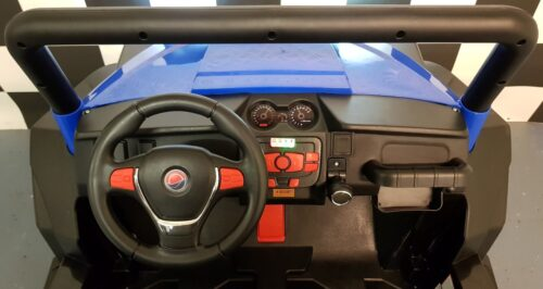 Dashboard V Twin kinderjeep blauw