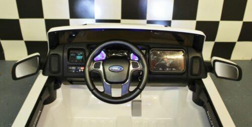 Dashboard Ford kinderauto wit