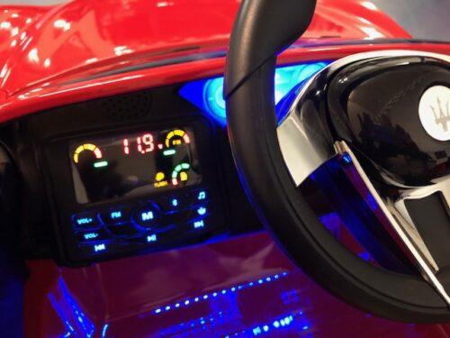 Dashboard Maserati kinderauto rood