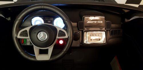 Dashboard Mercedes GLS63 mat zwart