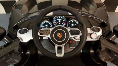 Dashboard Porsche Spyder kinderauto