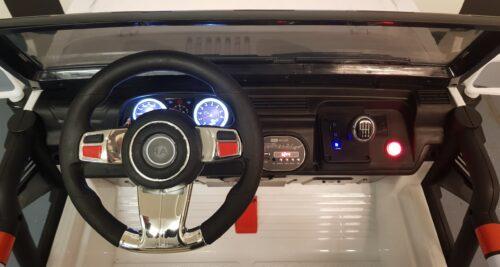 Dashboard Powerjeep wit