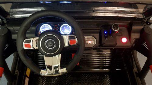 Dashboard Powerjeep zwart