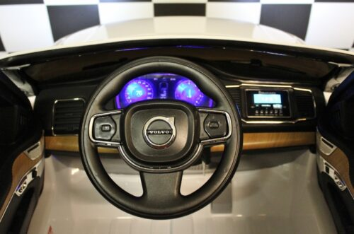 Dashboard Volvo kinder accu auto wit