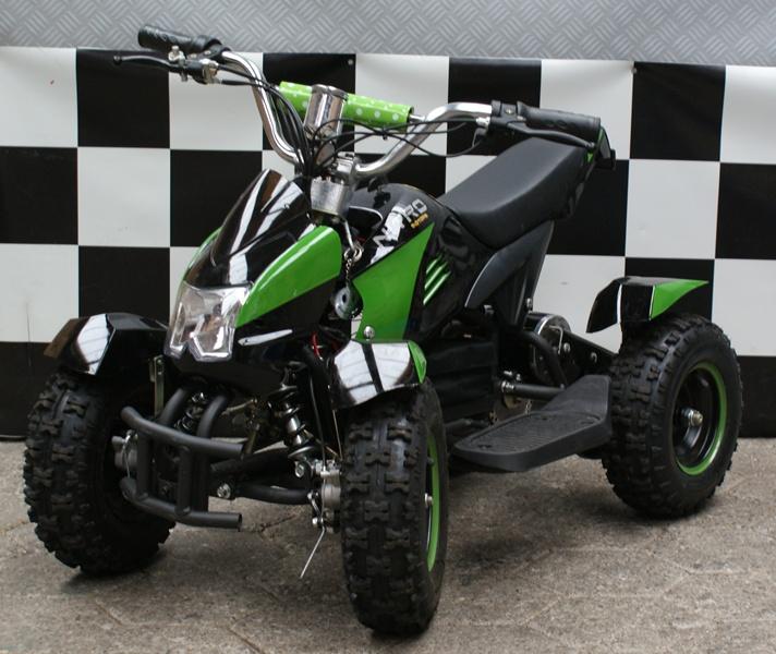 Kinderquad Cobra 36 volt Nitro zwart/groen