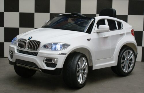 BMW X6 kinderauto 12 volt wit