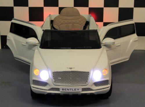Speelgoedauto Bentley wit 12 volt 2.4G RC