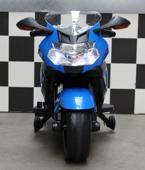 Speelgoedmotor BMW K1300 S blauw 12 volt