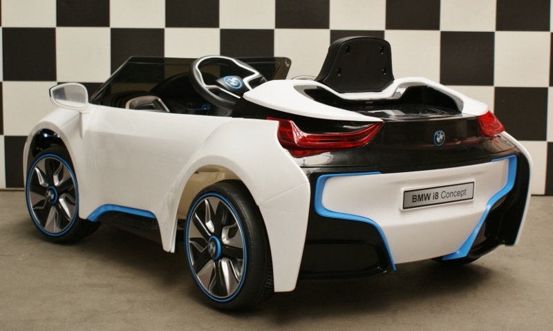 elektrische kinderauto 12 volt accu kinder auto bmw i8. Black Bedroom Furniture Sets. Home Design Ideas