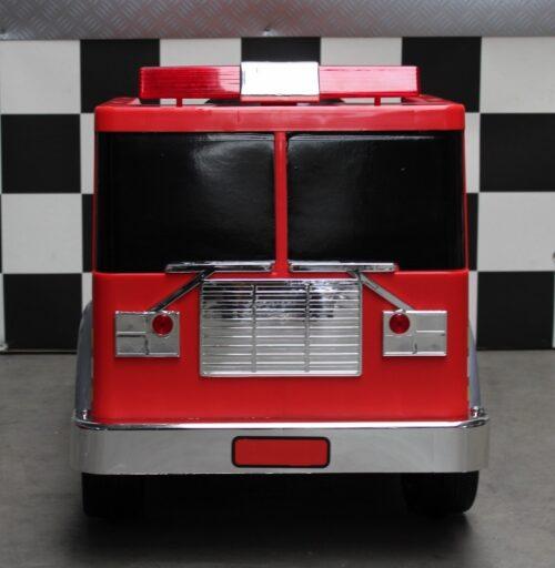 Brandweerwagen op accu 12 volt