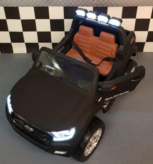 4WD kinderauto Ford New Range rmat zwart