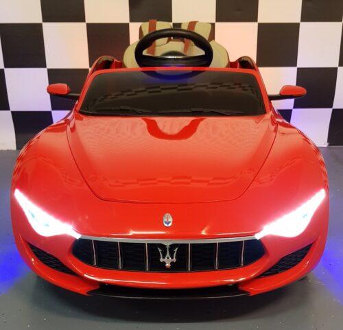 Kinderauto Maserati 12 volt 2.4G afstandbediening rood
