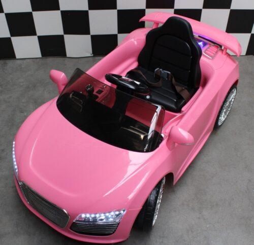 elektrische kinderauto roze rx sport