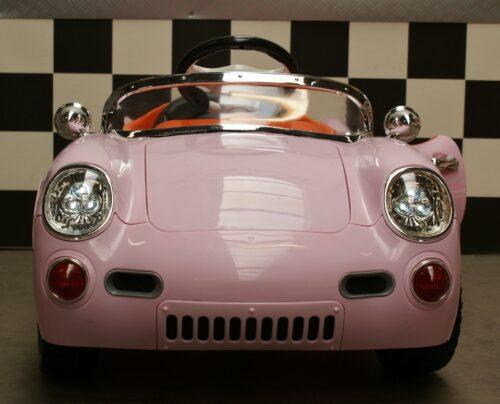 Retro 356 roze accu auto 2.4 g rc 12v