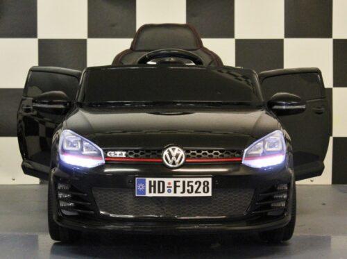 GTI kinderauto 12v 2.4G RC zwart