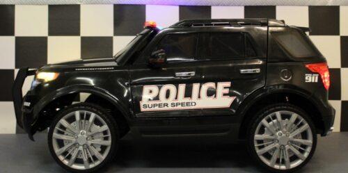 Politie kinderauto 2.4G afstandbediening 12 volt