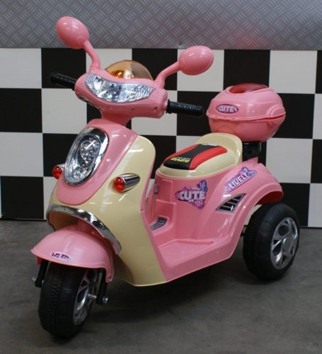 kinder scooter roze