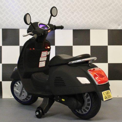 Accu kinderscooter mat zwart 12 volt