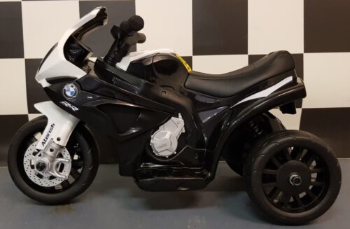 BMW S1000 mini kindertrike 6 volt zwart