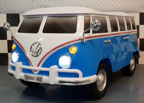 Volkswagen T1 Samba kinderbus blauw