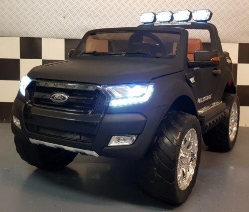 Elektrische kinderauto Ford new Ranger mat zwart